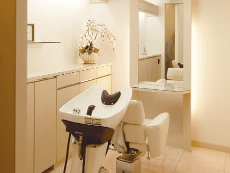美容室機能を持つ個室